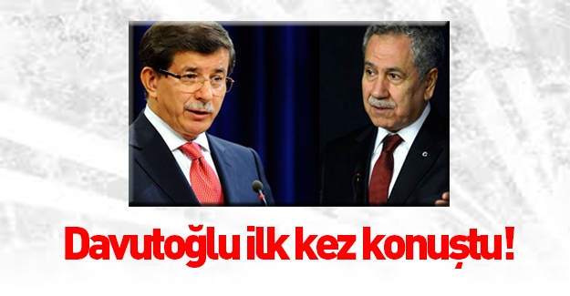 Başbakan Davutoğlu'ndan Arınç açıklaması!