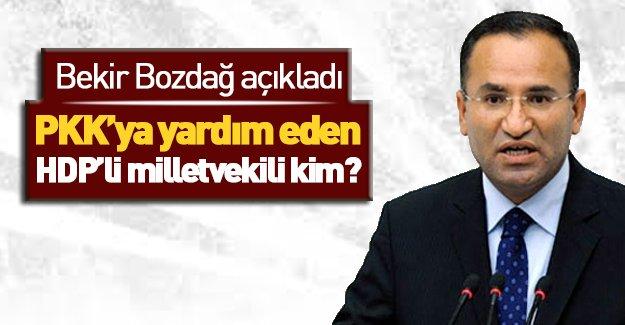 HDP'li vekil teröriste yardım ediyor!