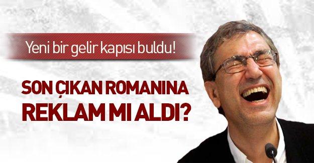 Orhan Pamuk son romanına reklam mı aldı