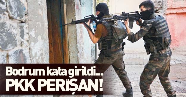 PKK darma duman oldu! Bodrum kata girildi!