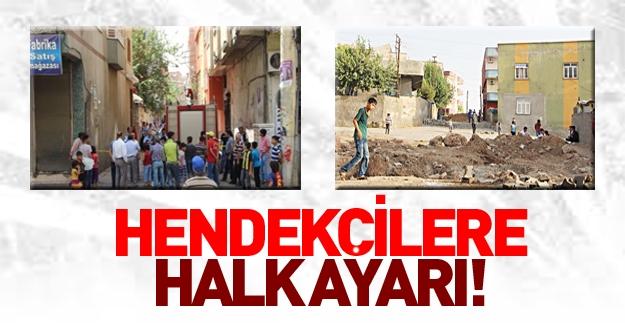 Diyarbakır 258. Sokak'ta halk iş başında! PKK giremedi