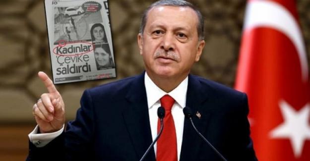 Erdoğan'ı sinirlendiren haber!