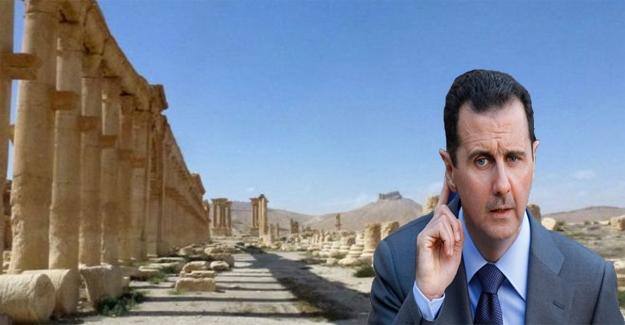 Palmira'yı Katil Esed yağmaladı