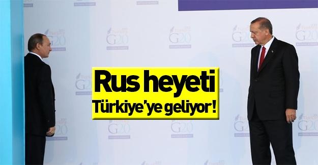 Yeni gelişme! Rus heyeti Türkiye'ye geliyor