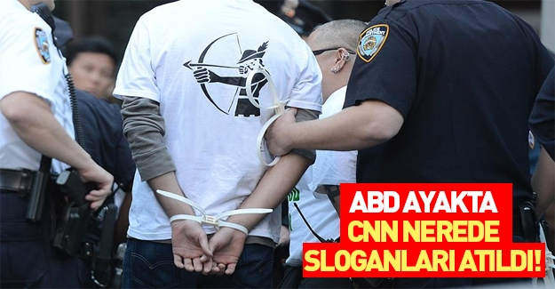 ABD medyası yüzlerce kişinin gözaltına alınışını görmedi