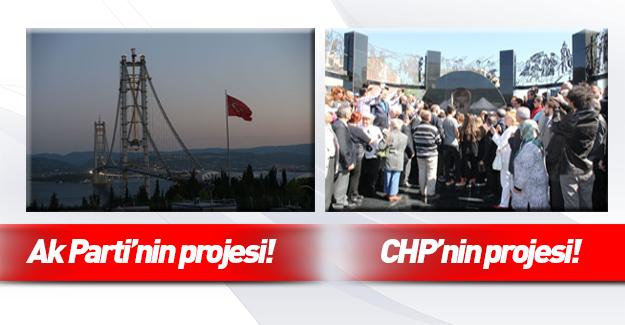 Ak Parti'nin köprü açılışına CHP'den misilleme(!)