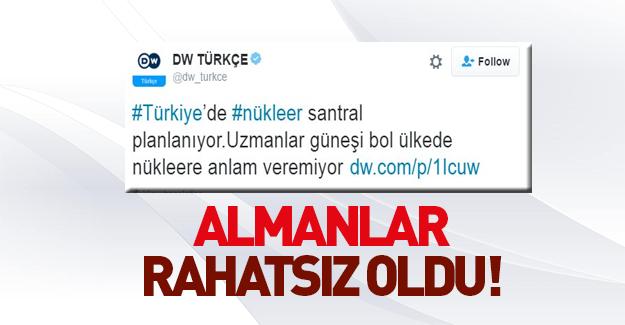 Almanlar Türkiye'de nükleer santral istemiyor