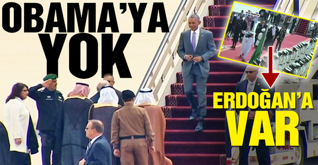 Arabistan'da Obama'yı vali karşıladı, malum medya rahatsız oldu!