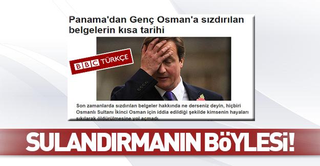 BBC Panama belgelerini Osmanlı'ya bağladı