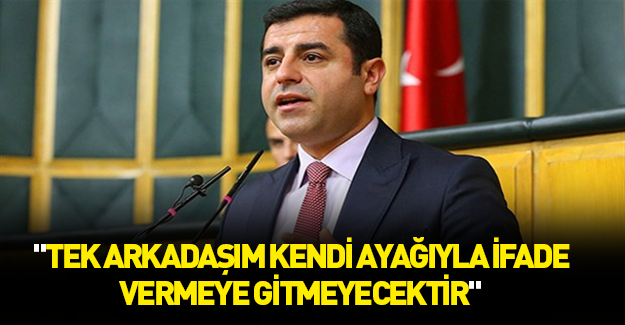 Demirtaş'tan yine skandal açıklamalar!