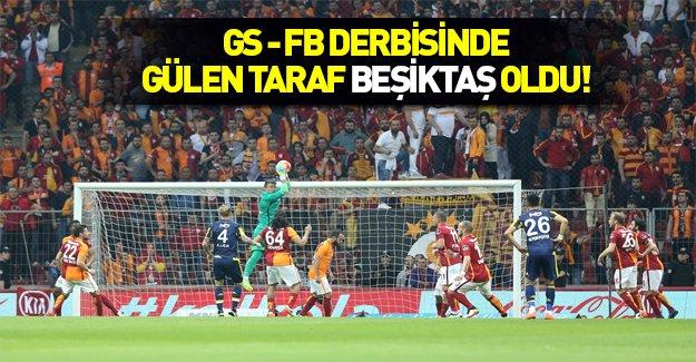 Derbinin sonucu Beşiktaş'a yaradı
