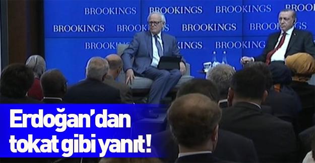 Erdoğan'dan tokat gibi cevap!