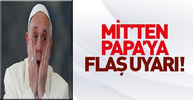 İstihbarat birimlerinden Vatikan'a flaş terör uyarısı!