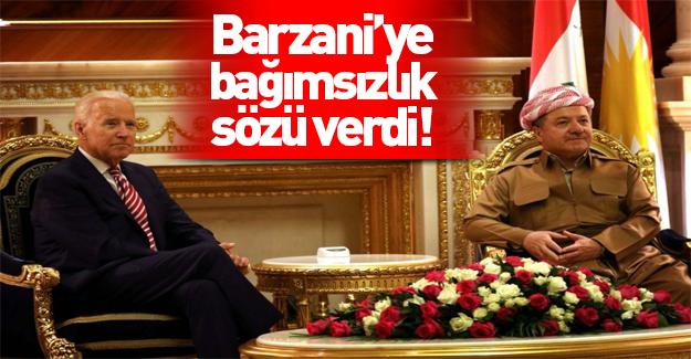 Joe Biden Kuzey Irak'ta Barzani'yle görüştü