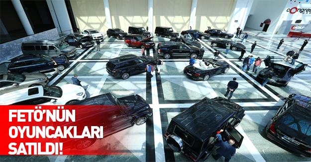 Koza-İpek'e ait lüks otomobillerin yarısı satıldı