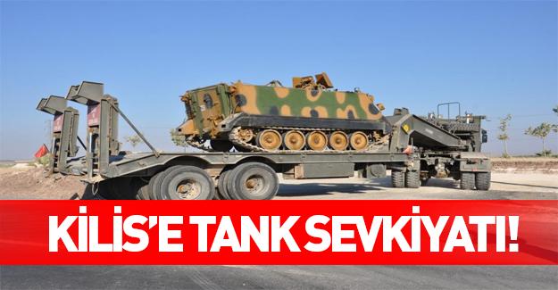 Kritik bölgelere tank sevkiyatı yapılıyor!
