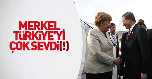 Merkel Gaziantep'te