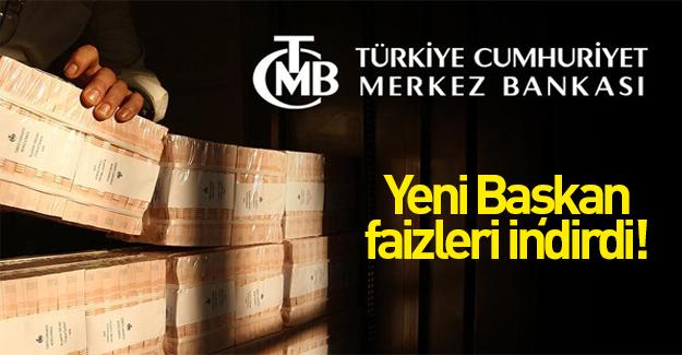Merkez Bankası'ndan faiz indirimi!