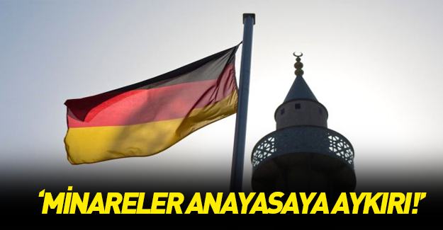Petry: Minareler anayasaya aykırı