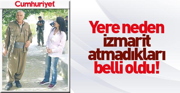 PKK'lıların telsiz konuşmalarında 'izmarit' detayı