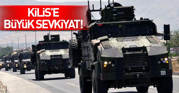 Sınırda askeri hareketlilik: Kilis'e büyük sevkiyat
