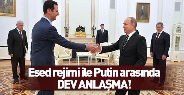 Suriye ile Rusya arasında büyük anlaşma