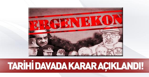 Yargıtay'dan flaş Ergenekon kararı!