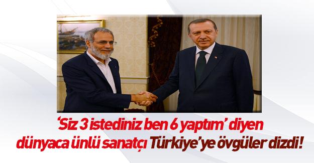 Yusuf İslam: Hiçbir ülkenin yapamadığını Türkiye yaptı