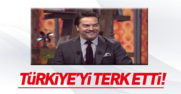 Beyazıt Öztürk Türkiye'yi terk etti