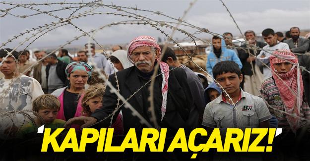 Burhan Kuzu'dan AB'ye mülteci resti