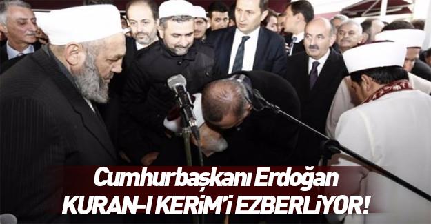 Cumhurbaşkanımız Kur'an-ı Kerim'i ezberliyor