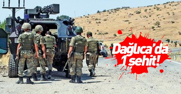 Dağlıca'da çatışma: 1 asker şehit