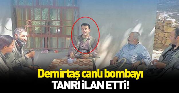 Demirtaş'tan canlı bombaya övgü!