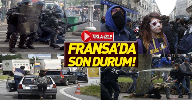 Direnişin şehri: PARİS!