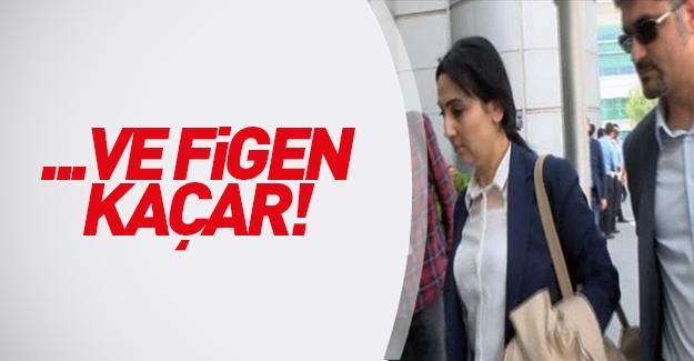 HDP'li Figen Yüksekdağ  yurtdışına gitti!