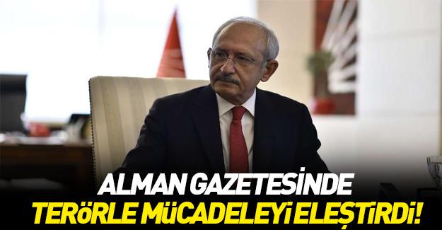 Kemal Kılıçdaroğlu Alman gazetesi Bild'e konuştu