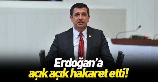 Kılıçdaroğlu'nun başdanışmanından Erdoğan'a ağır hakaret!