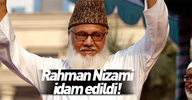 Motiur Rahman Nizami idam edildi