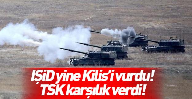 Saldırının ardından TSK'dan bombardıman