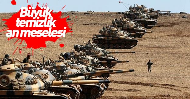 Türkiye'nin Cerablus zaferi! Büyük temizlik kapıda