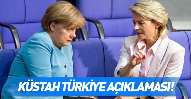 Alman Savunma Bakanı'ndan skandal Türkiye açıklaması!