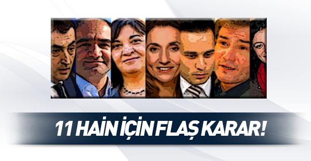Almanya'dan 11 Türk milletvekili için flaş karar