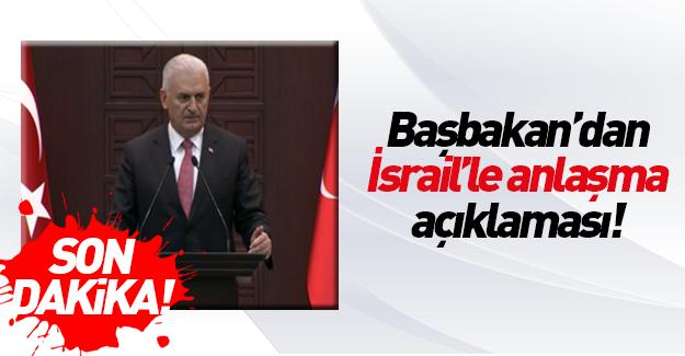 Başbakan Binali Yıldırım'dan İsrail açıklaması!