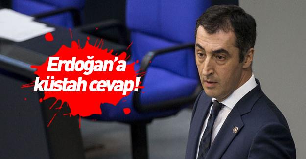 Cem Özdemir'den Erdoğan'a küstah cevap