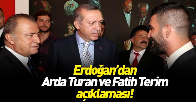 Cumhurbaşkanı Erdoğan'dan Arda açıklaması