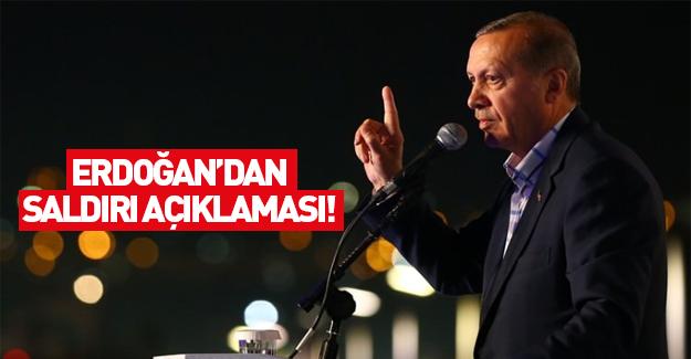 Cumhurbaşkanı Erdoğan'dan ilk açıklama!