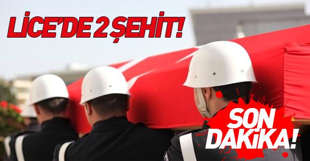 Diyarbakır'da hain saldırı: 2 şehit