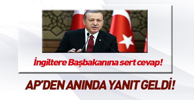 Erdoğan konuştu, AP'den mesaj geldi