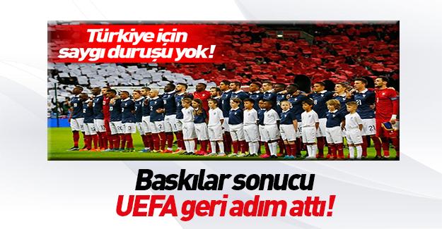 EURO 2016'da saygı duruşu!