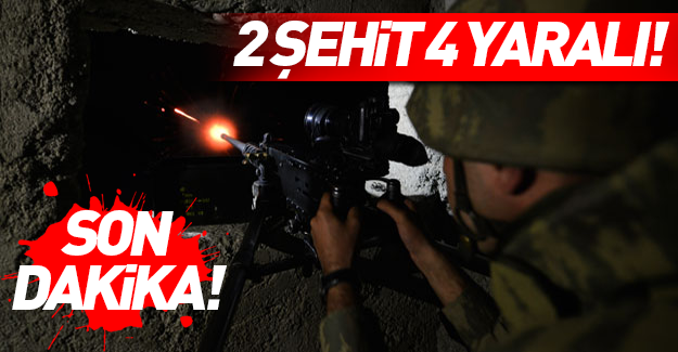 Hakkari Şemdinli'de hain saldırı: 2 şehit